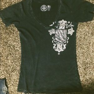 Affliction Live Fast tee
